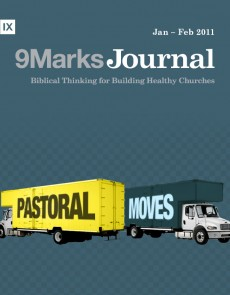 9Marks Journal: Pastoral moves