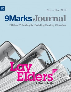 9Marks Journal: Lay elders part 1