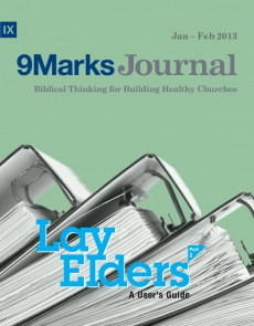 9Marks Journal: Lay elders part 2