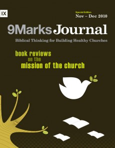 9Marks Journal: Book reviews on the mission of the church