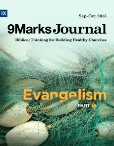 9Marks Journal: Evangelism part 1