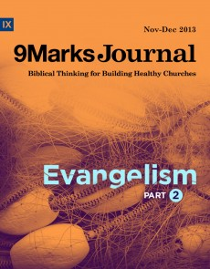 9Marks Journal: Evangelism part 2