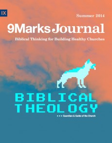 9Marks Journal: Biblical Theology- the guardian and guide of the church